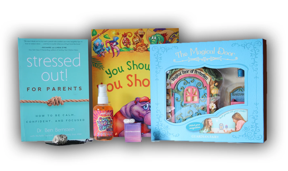 childrens gift boxes, kids gift boxes, children's mental health, kids mental health, anxiety relief for kids, stress relief for kids, calming kids, self help for kids, childrens book with meaning, parents self help book, self help book for parents,
