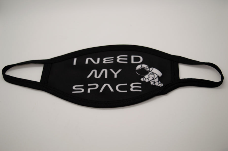 5 Pack Nylon Cotton Masks - I Need My Space Style Print - From Nasa Depot - The #1 Nasa Store In The Galaxy For NASA Hoodies | Nasa Shirts | Nasa Merch | And Science Gifts