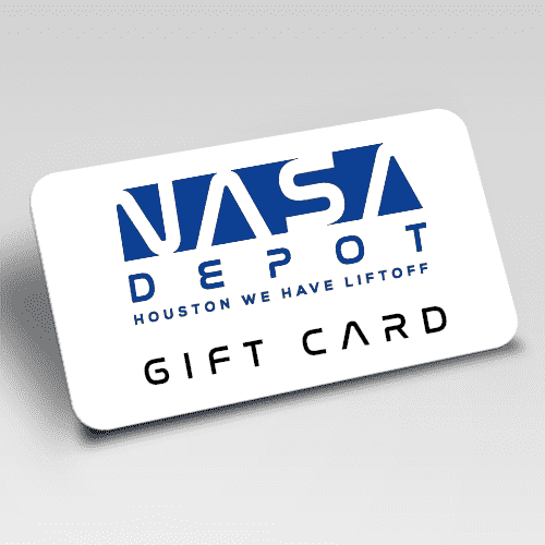 NASA DEPOT GIFT CARD - From Nasa Depot - The #1 Nasa Store In The Galaxy For NASA Hoodies | Nasa Shirts | Nasa Merch | And Science Gifts