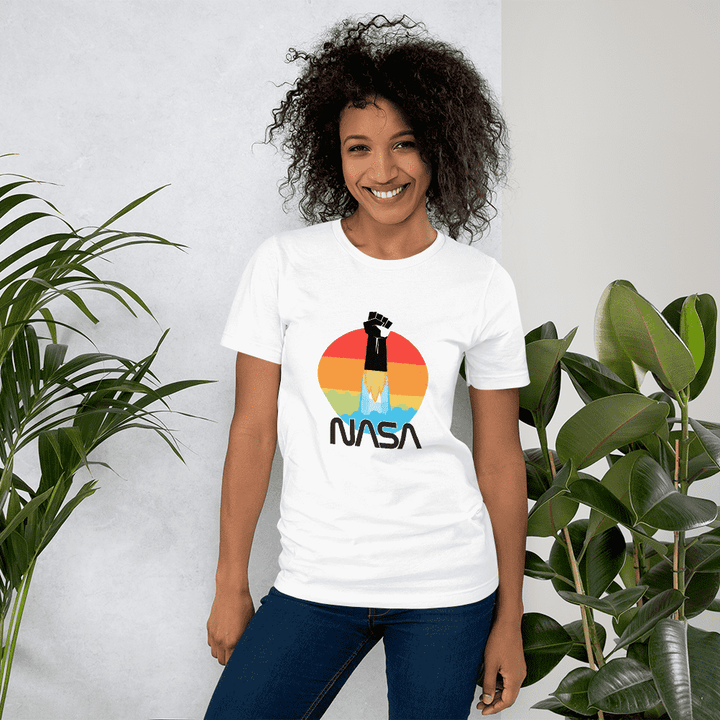 Women's Nasa Depot Black Lives Matter T-Shirt - Nasa Depot