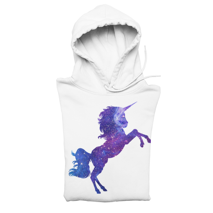Space Galaxy Unicorn Youth Hoodie - Cotton Blend - Nasa Depot