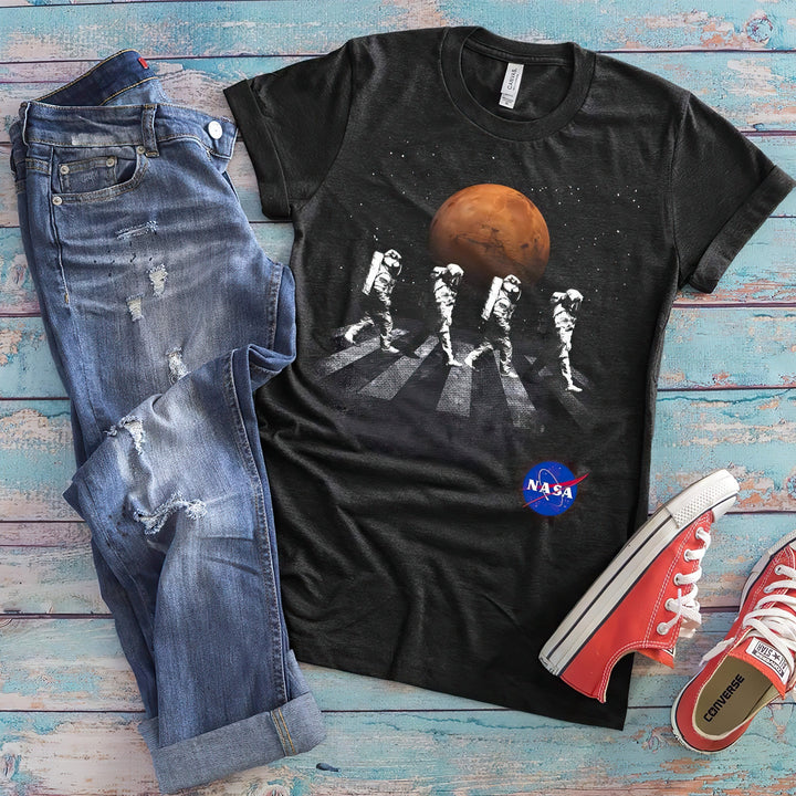 NASA Beatles Spacewalk Astronaut Alley Shirt from Nasa Depot - From Nasa Depot - The #1 Nasa Store In The Galaxy For NASA Hoodies | Nasa Shirts | Nasa Merch | And Science Gifts