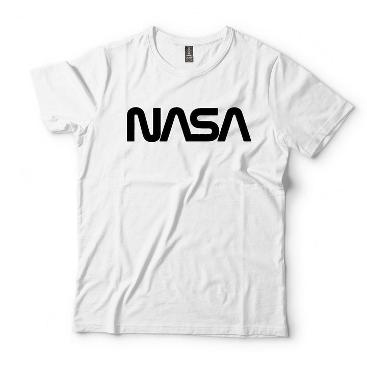 NASA Vintage Graphic Retro Logo Short Sleeve Cotton T-Shirt - Nasa Depot