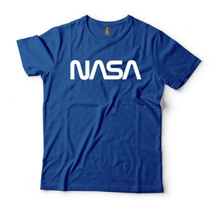 NASA Vintage Graphic Retro Logo Short Sleeve Cotton T-Shirt - From Nasa Depot - The #1 Nasa Store In The Galaxy For NASA Hoodies | Nasa Shirts | Nasa Merch | And Science Gifts