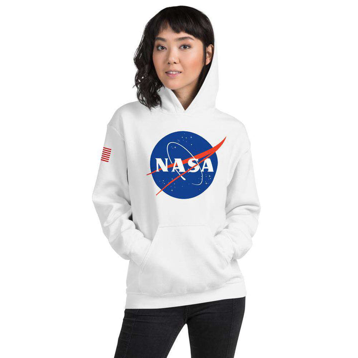 Women's Nasa Hoodie - From Nasa Depot - The #1 Nasa Store In The Galaxy For NASA Hoodies | Nasa Shirts | Nasa Merch | And Science Gifts