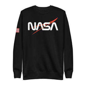 NASA Fleece Sweatshirt - From Nasa Depot - The #1 Nasa Store In The Galaxy For NASA Hoodies | Nasa Shirts | Nasa Merch | And Science Gifts