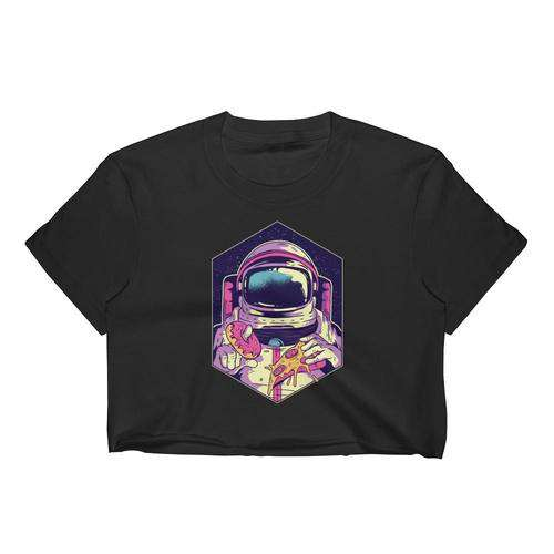 Women's Space Food Crop Top - Nasa Depot