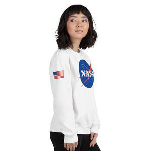 Nasa Depot Women's Nasa Crew Neck Sweatshirt - Nasa Depot