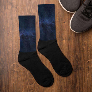 Nasa Depot Galaxy Socks - Nasa Depot