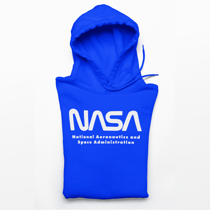NASA Cotton Blend Hoodie - From Nasa Depot - The #1 Nasa Store In The Galaxy For NASA Hoodies | Nasa Shirts | Nasa Merch | And Science Gifts