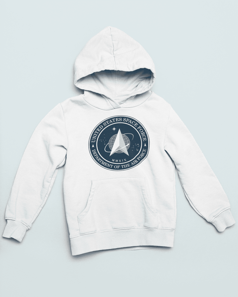 Men's Space Force Cotton Blend Hoodie - Nasa Depot