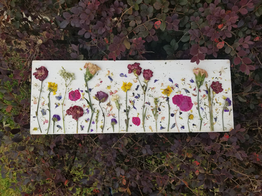 Home Decor- Flower Field Collage- Large 10