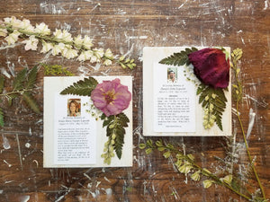 "5.5"" x 5.5"" with Obituary Card"