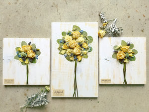 "Bridal Bouquet + (2 medium) 11"" x 11"" Mother of the Bride and Groom- 3 pc. set"