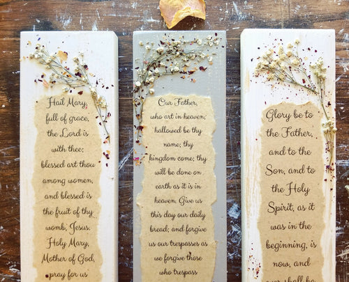 3 Piece Prayer Press Set- 3.5