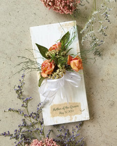 Mother's Corsage WITH Personalization- Choose Size