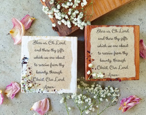 "Grace Prayer Press- Shelf Block- 3.5"" x 3.5"""