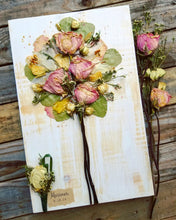"Bridal Bouquet WITH Personalization- 11"" x 18"" - Customer Favorite"