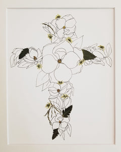 The Sketch Collection- Magnolia Cross