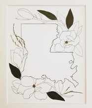 The Sketch Collection- Magnolia LA Outline