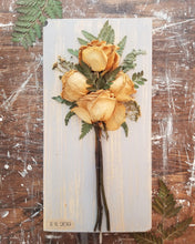 "Funeral Flowers WITH personalization- Large- 7"" x 14"""