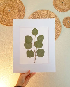 Custom Paper Press- Greenery or Floral Sprig- Choose size