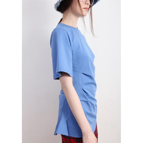 Ruched Detail Bell Sleeves Top - Riseatop.store