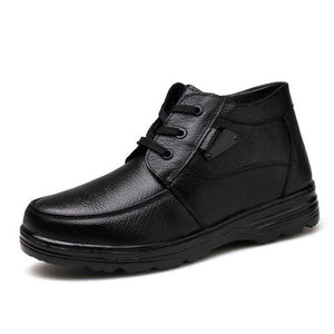 Winter Ankle Boots Lace Up - Riseatop.store
