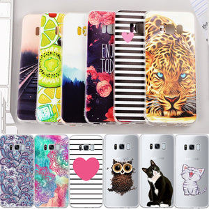 Soft TPU Pattern Phone Case For Samsung Galaxy J3 J5 J7 Prime J1 Mini 2016 For Samsung A3 A5 A7 2017 S8 Back Cover Housing Coque - Riseatop.store