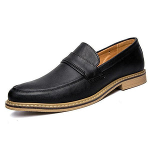 Men's Shoes, well stitched, firm and comfortable and synthetic foot wear - Riseatop.store
