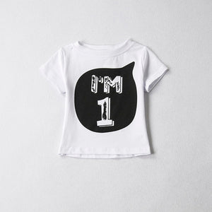 Trendy Toddler Baby Summer T-shirts - Riseatop.store