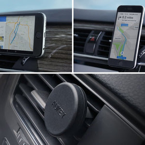 360 Degree Universal Car Holder Magnetic Air Vent Mount Smartphone Dock Mobile Phone Holder - Riseatop.store