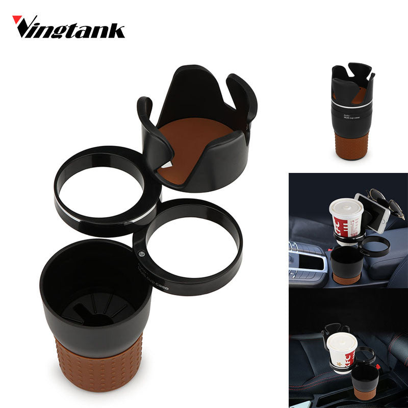 Multifunction Cup Holder Rotatable Convient Design Mobile Phone Drink Sunglasses Holder Drink Holder Car Accessories - Riseatop.store