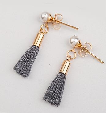 Adra - Tassel Earrings