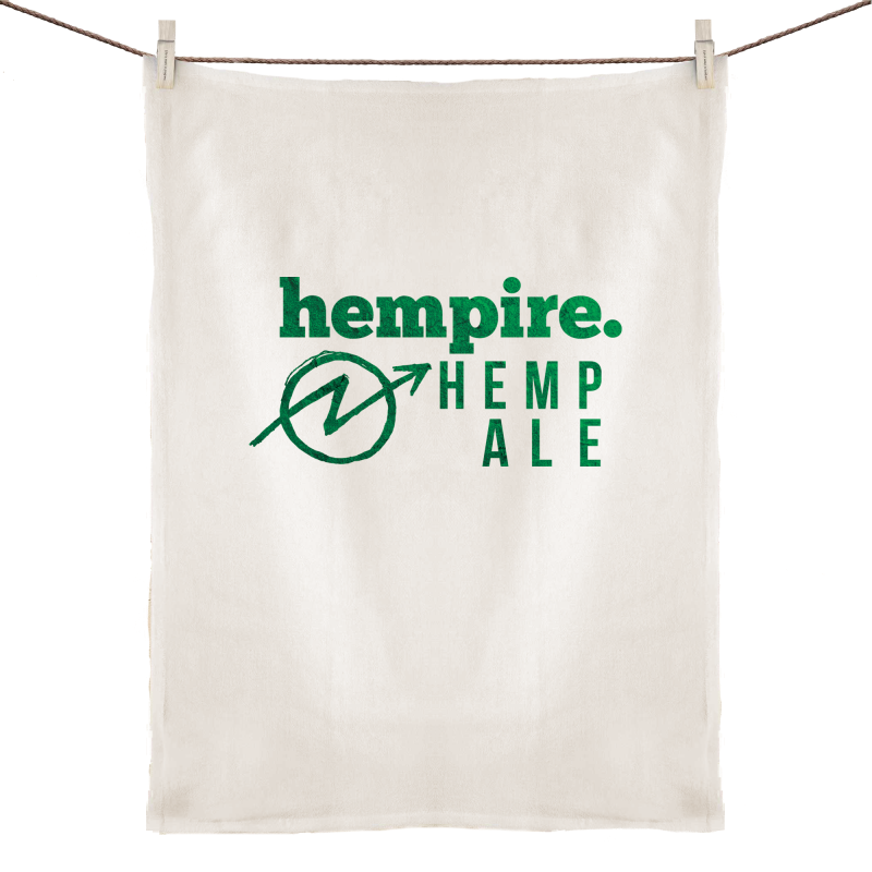 Doss Blockos Hempire Tea Towel
