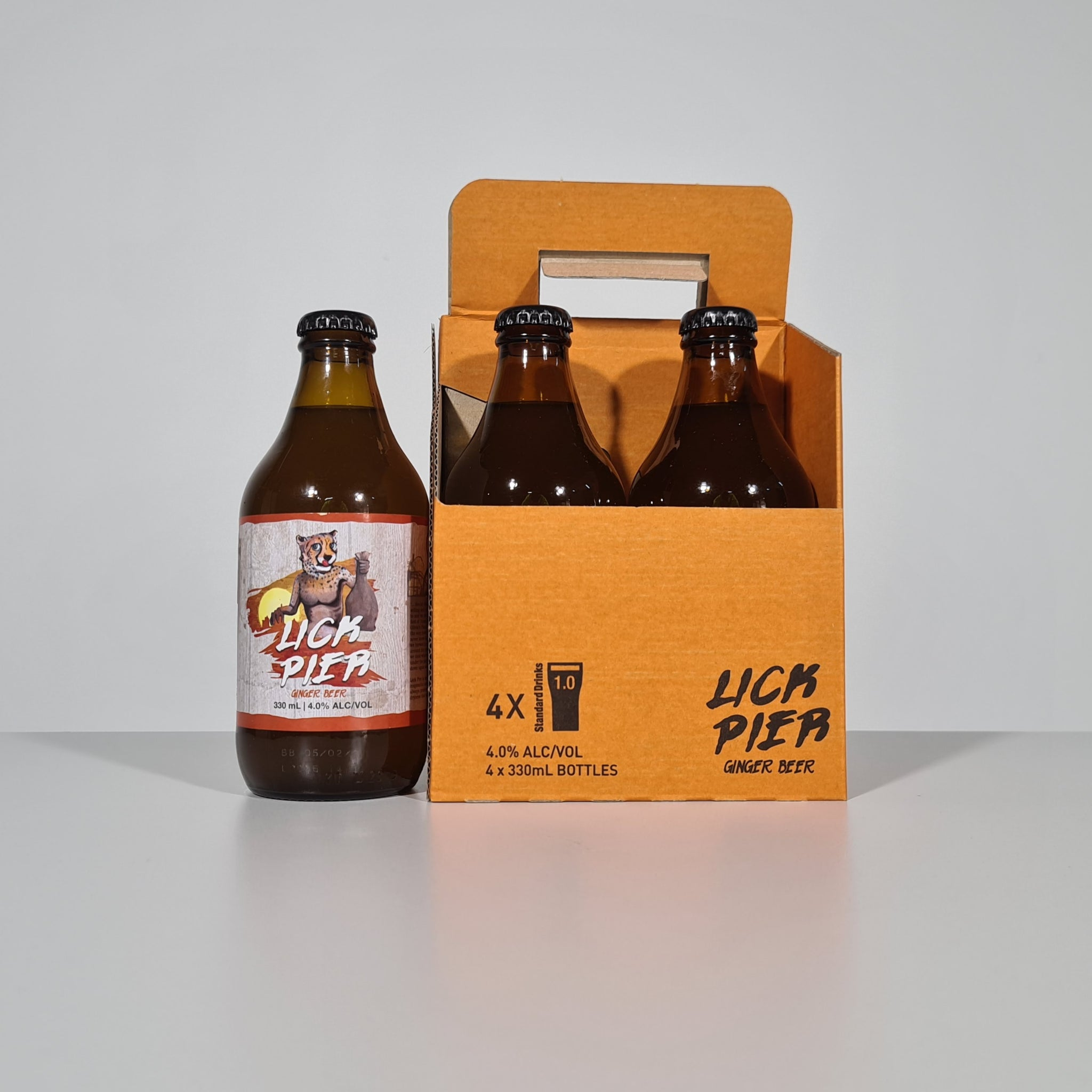 Lick Pier Ginger Beer 330ml