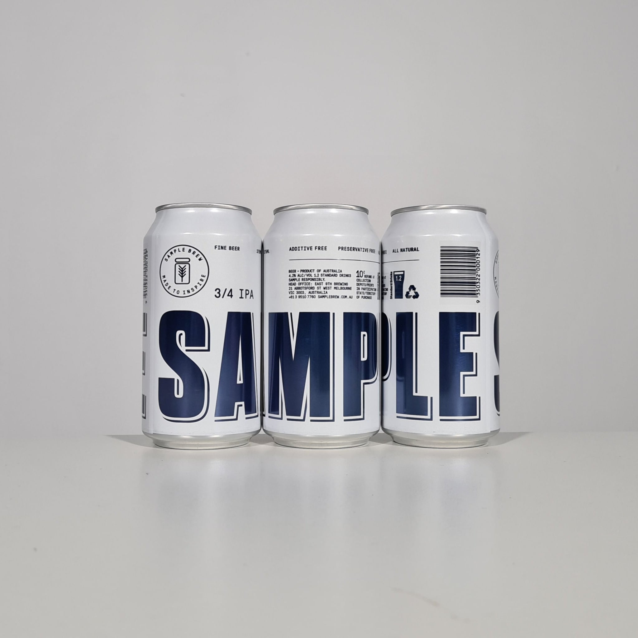 Sample Brew 3/4 IPA