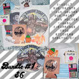 Small Bundles RTS Sublimation plus extras