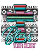 Blessed Cross Designs Sublimation Transfer