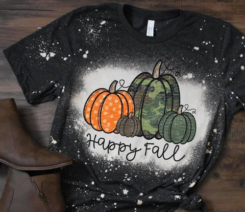 It's Fall Y'all Bleached Tee