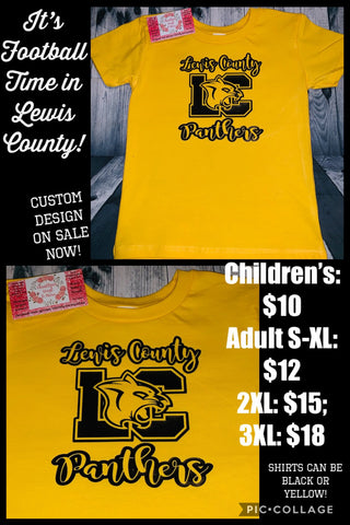 Lewis County Panthers LC T-Shirt