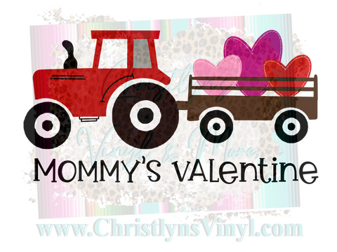 Mommys Valentine Sublimation Transfer