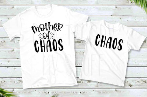Mother of Chaos & Toddler Matching Screen Transfers Only