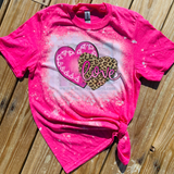 Bleached Valentine Wholesale Shirts