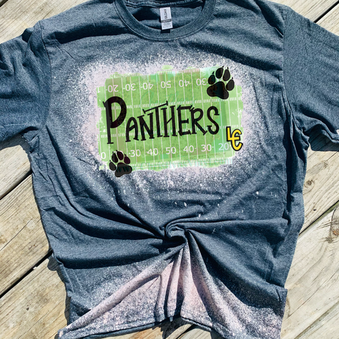 Lewis County Hohenwald TN Panthers Bleached Tees