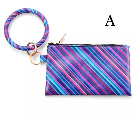 Wristlet Wallet with O-Ring Bangle