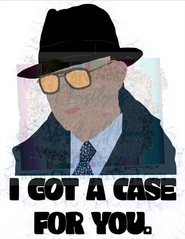 Raymond Reddington PNG Sublimation Digital Download