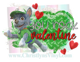 Paw Patrol Valentines Sublimation Transfers