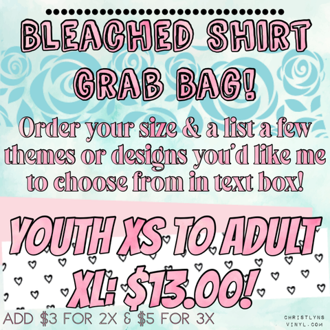 Bleached Shirt Grab Bag
