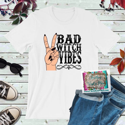 Bad Witch Vibes Peace Full Color